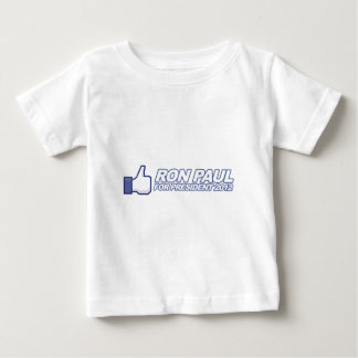 Like Ron Paul - 2012 election president vote Baby T-Shirt