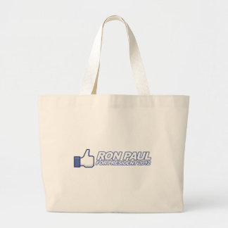Like Ron Paul - 2012 election president vote Canvas Bags