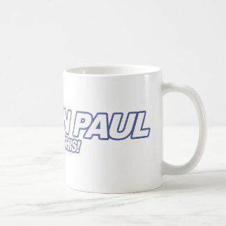 Like Ron Paul - 2012 election president vote Basic White Mug