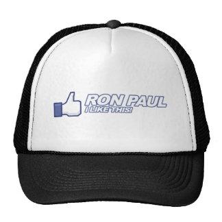 Like Ron Paul - 2012 election president vote Trucker Hat