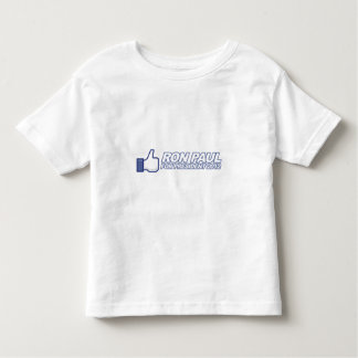Like Ron Paul - 2012 election president vote Toddler T-Shirt