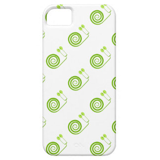"Likeable snail of green, ""Expensive spiral of Cabb Barely There iPhone 5 Case"