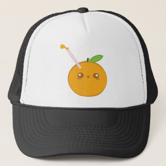 Lil' Squirt Cute Baby Orange Hat