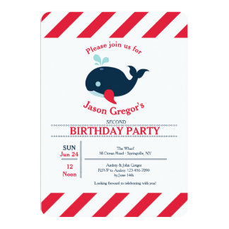 Li'l Squirt Invitation