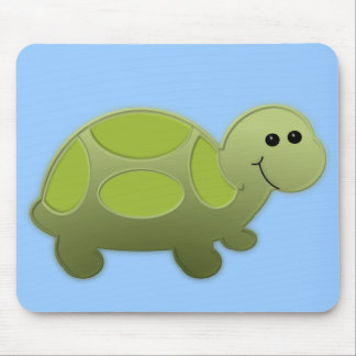 Lil turtle mouse pad