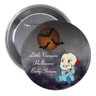 Lil Vampire Baby Shower Favor Buttons