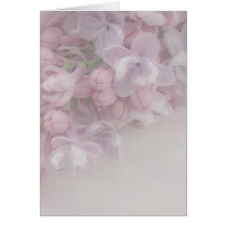 Lilac Blossom Greeting Card