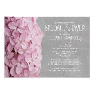Lilac Bridal Shower Invitations Personalized Invite