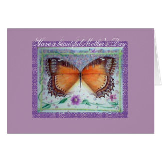 Lilac & Butterfly Mother's Day Card