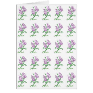 Lilac Card Greeting Cards