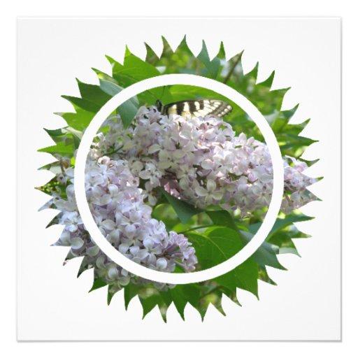 Lilac Invitation