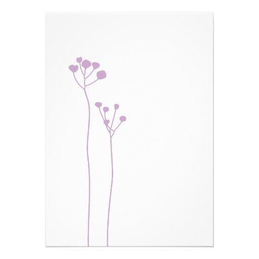 Lilac Custom Announcements
