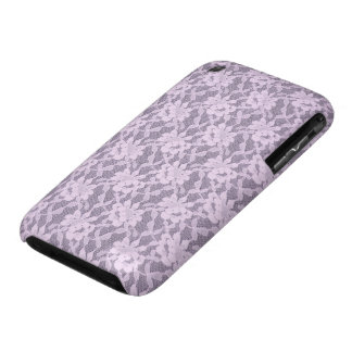 Lilac Lace iPhone 3G/3GS Barely There Case iPhone 3 Cases