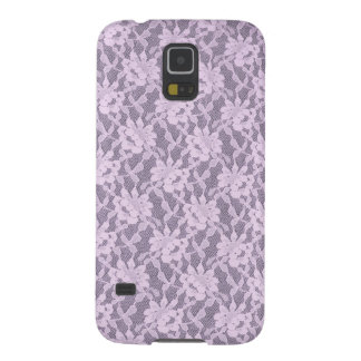 Lilac Laces Barely There Samsung Galaxy S5 Case