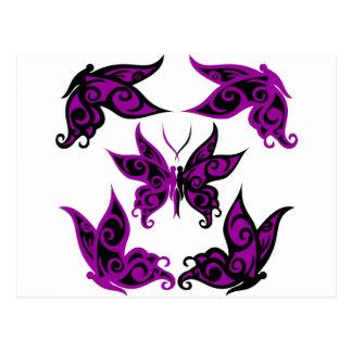 lilac line butterflies 2