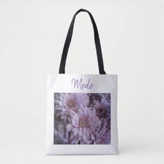Lilac Mum Tote bag