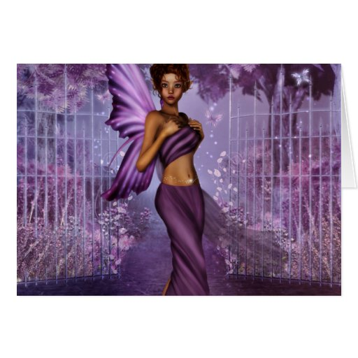 Lilac Nights Greeting Cards