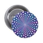 Lilac Orbs Button