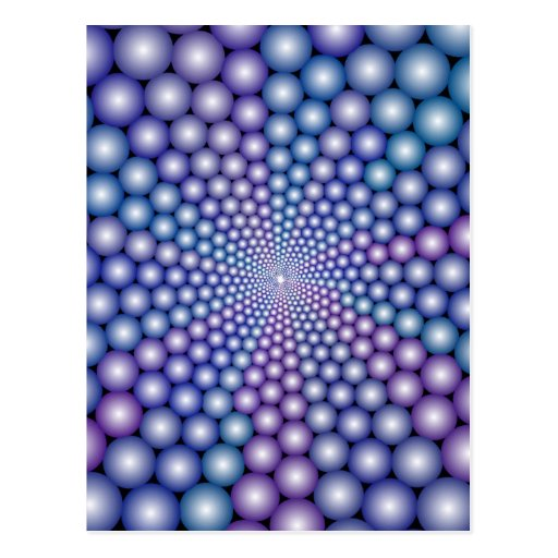 Lilac Orbs Post Cards