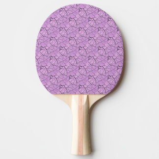 Lilac Purple Dragon Scale Ping Pong Paddle