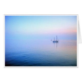 Lilac Sea Greeting Cards