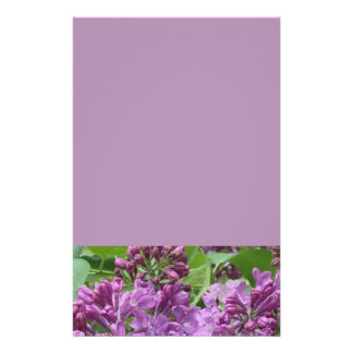 Lilac Stationery