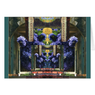 Lilac Temple Card
