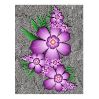Lilac tenderness postcard