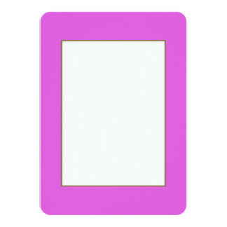 Lilac Valentines Solid Custom Invites