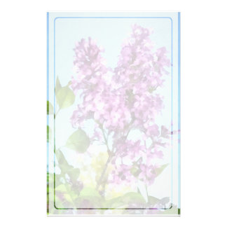 Lilacs Against the Sky Stationery