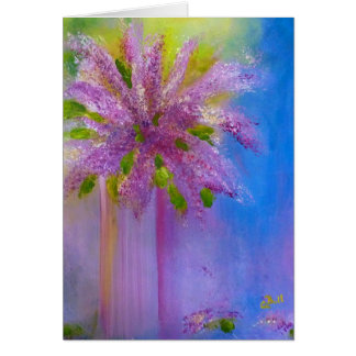 Lilacs Note Card