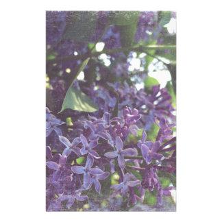 Lilacs Stationery