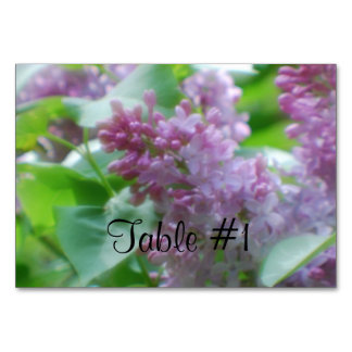 Lilacs Table Cards