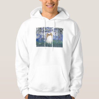 Lilies 6 - Japanese Chin (L1) Hoodie