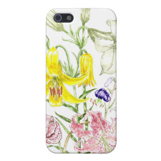 'Lilies' iPhone 4 Case