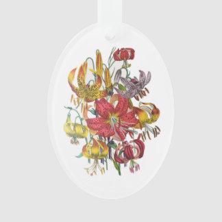 Lilies Ornament