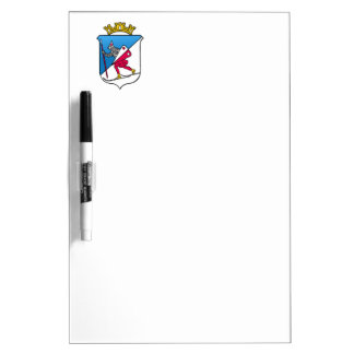 Lillehammer Norway Coat of Arms Heraldry Dry Erase Board