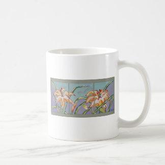 Lillies of the field coffee mug