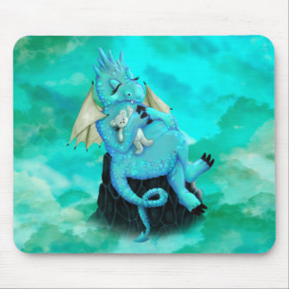 LILLOU CUTE ALIEN DRAGON CARTOON MOUSE PAD