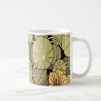 Lilly Flowers Basic White Mug