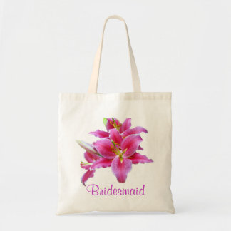 Lily Bridesmaid Tote Bag