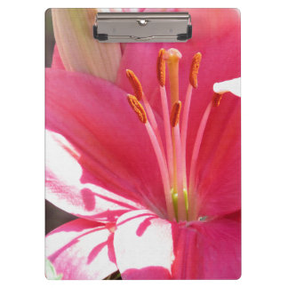 Lily Flower Clipboard