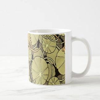 Lily Flowers Basic White Mug