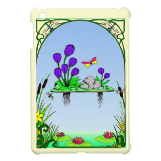 Lily pond iPad mini cover