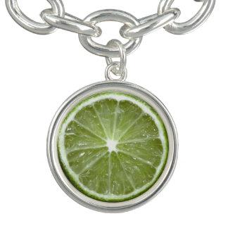 Lime Charm Bracelet