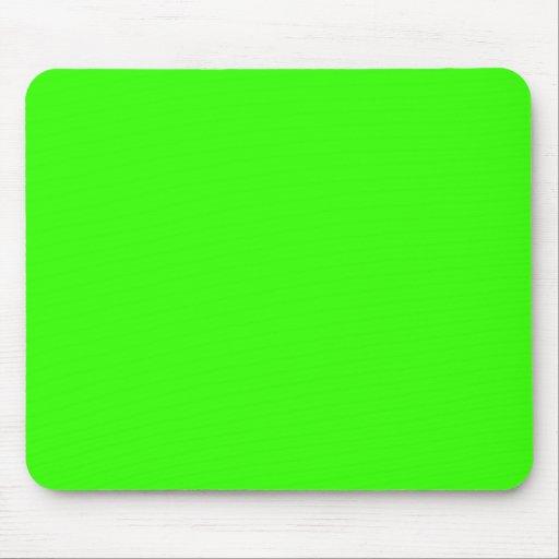 Lime Green Mousepad