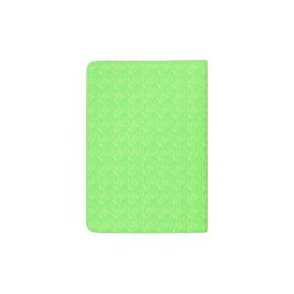 Lime Green Texture Passport Holder