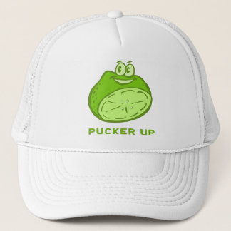 Lime - Pucker Up! Trucker Hat