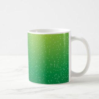 Lime Soda with Tiny Bubbles Background Art Coffee Mug