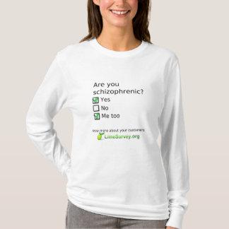 LimeSurvey Schizophrenic T-Shirt
